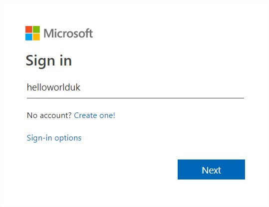 hotmail signin